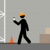 An animated training video that features characters in dangerous scenarios caused by the distractions of their cell phones.