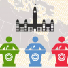 This animated video provides information about who is eligible to vote in a Canadian election.